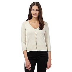 Red Herring - Beige V neck cardigan
