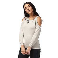 Red Herring - Natural cold shoulder jumper