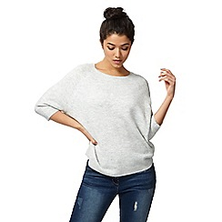 Red Herring - Grey marl knit jumper