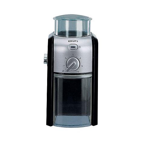 Krups - Black Krups GVX2 Expert coffee grinder