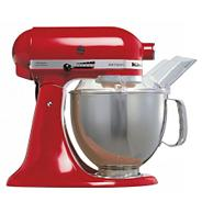 Artisan KSM150 Red stand mixer