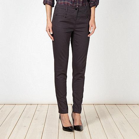 Principles Petite by Ben de Lisi - Designer petite dark grey slim fit jeans