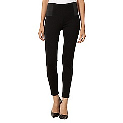 Principles Petite by Ben de Lisi - Petite designer black slim and trim leggings