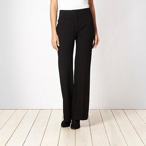 Principles Petite by Ben de Lisi - Petite black suit trousers