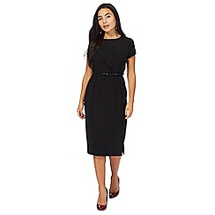 Principles Petite by Ben de Lisi - Black petite pencil dress