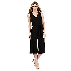 Principles Petite by Ben de Lisi - Black cut-out jumpsuit