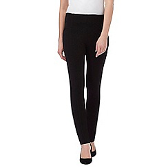 Principles Petite by Ben de Lisi - Black slim and trim leggings