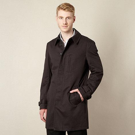 J by Jasper Conran - Designer black shower resistant mac coat