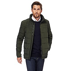 J by Jasper Conran - Green alpine quilted jacket