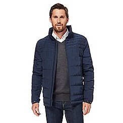 J by Jasper Conran - Navy alpine quilted jacket