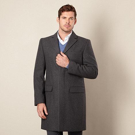 J by Jasper Conran - Designer grey wool blend coat