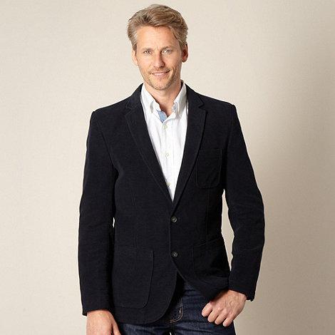 J by Jasper Conran - Designer navy moleskin blazer jacket
