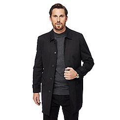 J by Jasper Conran - Black zip out liner mac coat