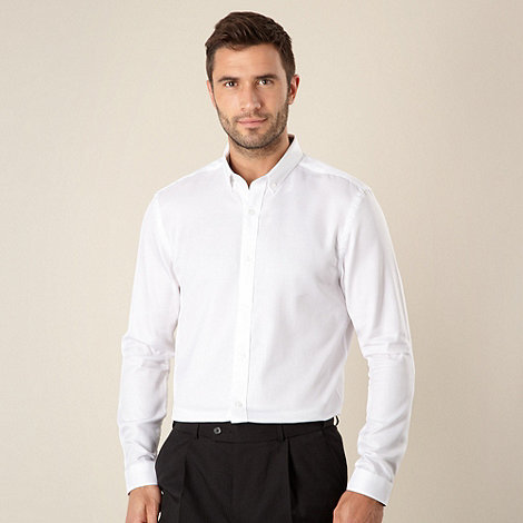 J by Jasper Conran - Designer white oxford shirt