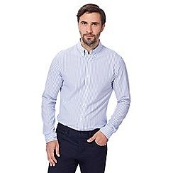 J by Jasper Conran - Light blue and white striped shirt