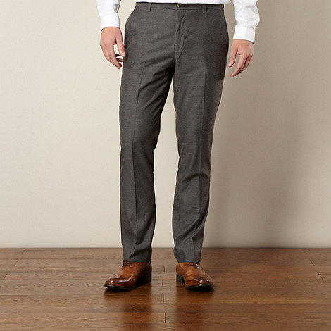 J by Jasper Conran - Designer grey textured trousers