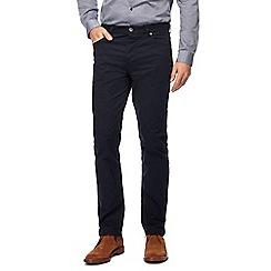 J by Jasper Conran - Navy straight leg trousers