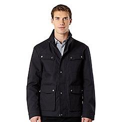 J by Jasper Conran - Big and tall designer navy bonded jacket