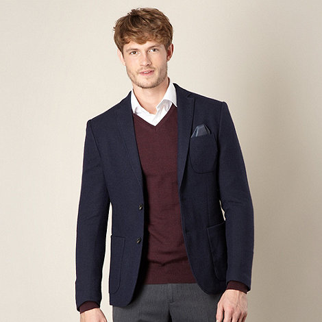 J by Jasper Conran - Blue wool blazer