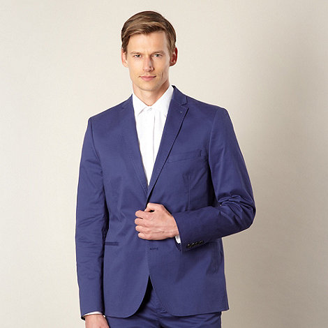 J by Jasper Conran - Designer blue cotton blazer