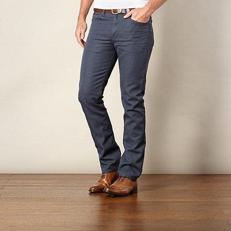 J by Jasper Conran - Designer blue raw straight leg jeans