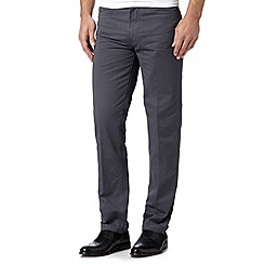 J by Jasper Conran - Designer grey regular fit trouser