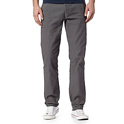 J by Jasper Conran - Big and tall designer grey cord trousers