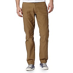 J by Jasper Conran - Designer tan straight leg cords