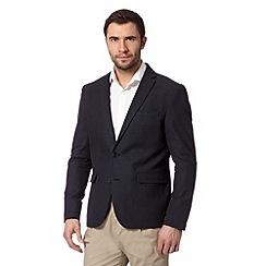 J by Jasper Conran - Designer navy textured blazer