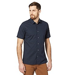 J by Jasper Conran - Designer navy floral print shirt