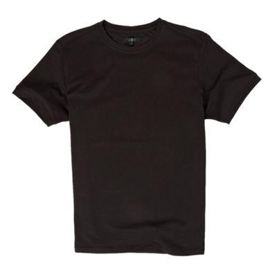 Black Pali crew neck t-shirt