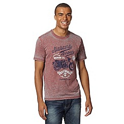 J by Jasper Conran - Designer wine 'Alabama Arrow' t-shirt
