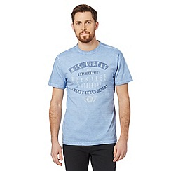 J by Jasper Conran - Designer blue 'NYC RIDERS' t-shirt