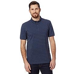 J by Jasper Conran - Designer navy striped polo shirt