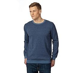 J by Jasper Conran - Designer dark blue striped jumper