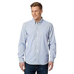 J by Jasper Conran - Designer light blue gingham shirt