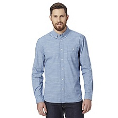 J by Jasper Conran - Designer blue fine striped shirt