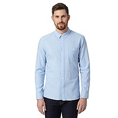 J by Jasper Conran - Big and tall designer pale blue oxford shirt