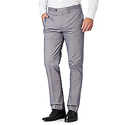 J by Jasper Conran - Designer grey oxford trousers
