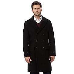 J by Jasper Conran - Black wool blend coat