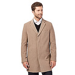 J by Jasper Conran - Big and tall fawn lightweight epsom jacket