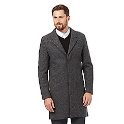 J by Jasper Conran - Grey Epsom coat