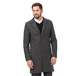 J by Jasper Conran - Grey Epsom coat