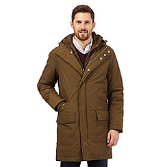 J by Jasper Conran - Big and tall khaki parka jacket
