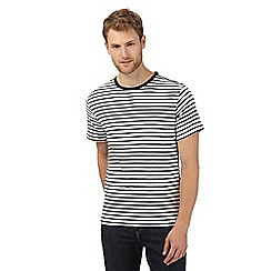J by Jasper Conran - Designer off white striped t-shirt