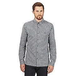 J by Jasper Conran - Big and tall blue checked gingham shirt