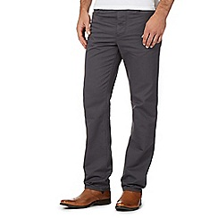 J by Jasper Conran - Grey Waffle Texture Trousers