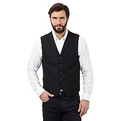 J by Jasper Conran - Navy textured waistcoat