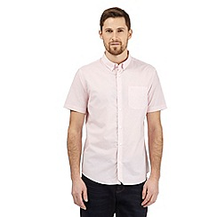 J by Jasper Conran - Pink fine striped shirt