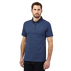 J by Jasper Conran - Blue polo shirt